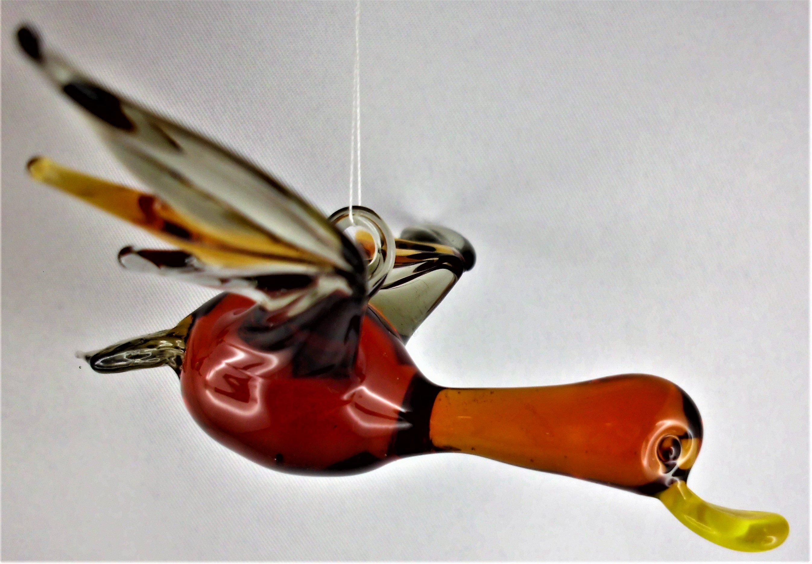Vögel zum Aufhängen 2 | glaskuenstlerin.de